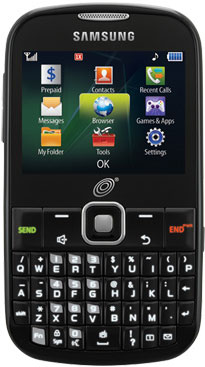samsung s380c feature phone with qwerty keyboard