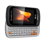 Boost mobile LG Rumor Reflex feature phone