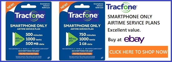Tracfone smartphone only plans