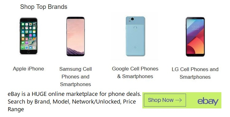 smartphone deals at ebay