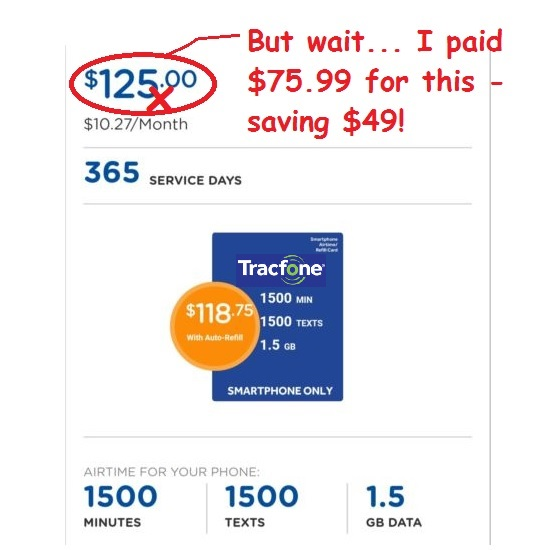 Tracfone card discount